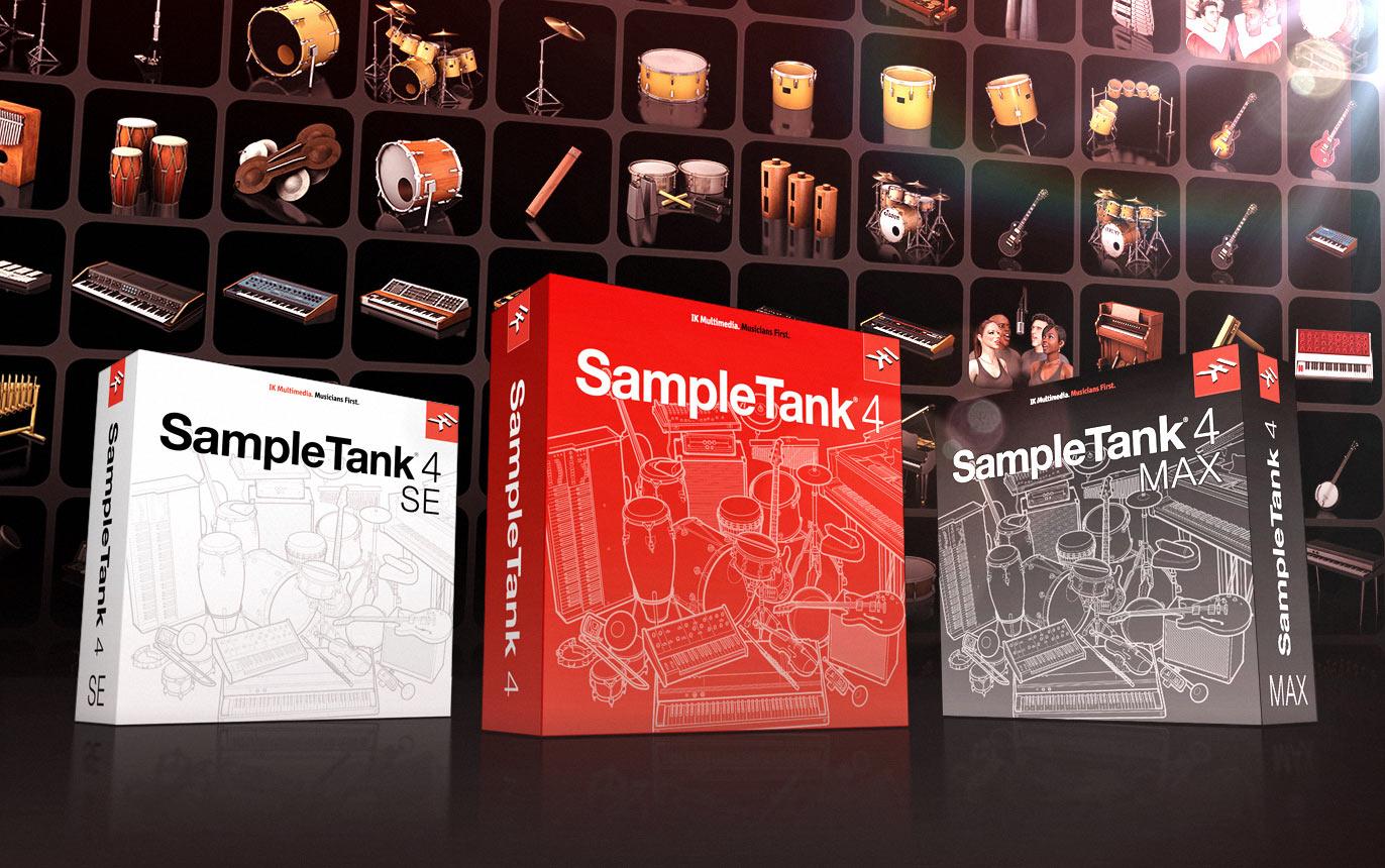 SampleTank 4,超过250G的音色样品,带给你工作站的全新体验!