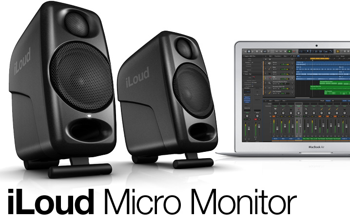 iLoud Micro Monitor - Ultra-compact, high quality reference studio monitors
