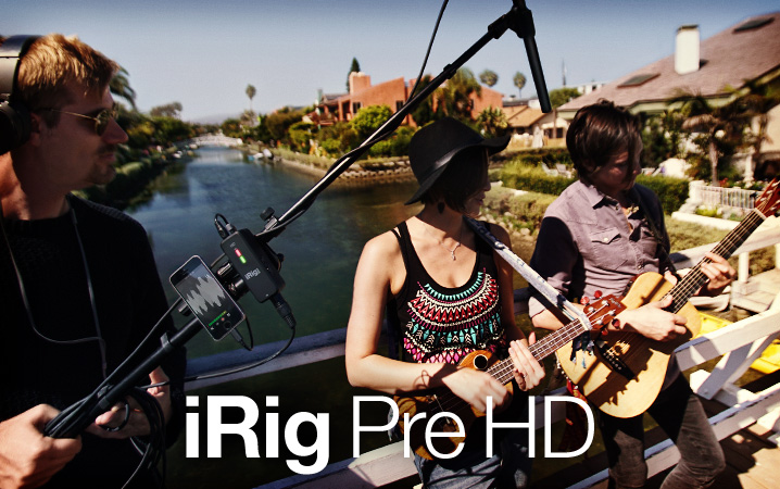 iRig Pre HD - Digital, high definition microphone interface with studio quality preamp for iPhone, iPad, Mac and PC