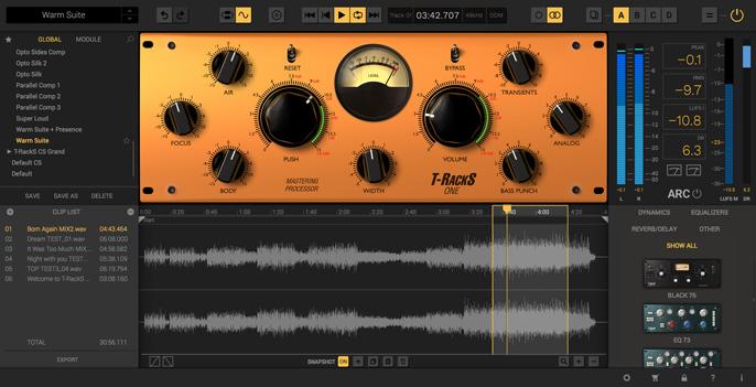 IK Multimedia T-RackS 5 Complete 破解版 终极混音和母带处理工作站-麦氪派(WaitsUn.com | 爱情守望者)